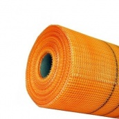 Сітка штукатурна фасадна Budowa 160 г/м2 5х5 мм 50 м, помаранчева