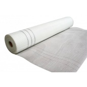 Сітка штукатурна лугостійка 90 г/м2 2,5х2,5 мм 1х50 м біла
