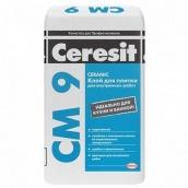 Клей для плитки Ceresit СМ-9 25 кг