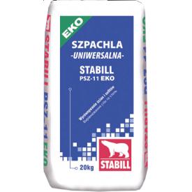 Шпаклівка гіпсова Stabill ЕКО PSZ-11 універсальна 20 кг
