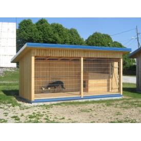 Вольєр для собаки Простір 4х2х2 м