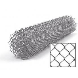 Сетка рабица оцинкованная 50х50 мм 1,8х10 м