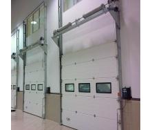 Секционные промышленные ворота Alutech ProPlus S-гофр 3000*3000