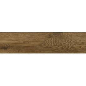 Керамическая плитка для пола Golden Tile Terragres Kronewald коричневая 150x600x8,5 мм (977920)