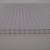 Сотовый поликарбонат Lexan 4 мм прозрачный 1UV