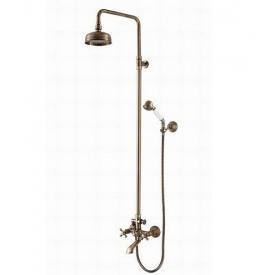 Душевая стойка со смесителем для ванны и душа Welle Amalia 37008Т4HO-1M1410-GH1315