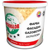 Фарба фасадна Ансерглоб Газобетон Anserglob Gazobeton акрілова 10 л