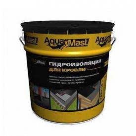 Мастика бітумно-гумова AquaMast для покрівлі 18 кг