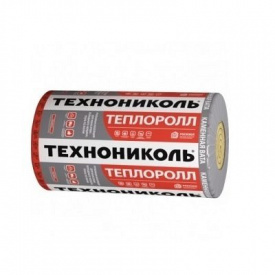 """Утеплювач базальтовий 30"""" Теплоролл (1000*4000*100 мм) - 4 кв. м/рул"""
