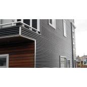 Облицювання фасадів профнастилом