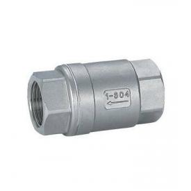 Клапан обратный муфтовый Lateya сталь AISI 304 15 мм