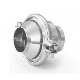 Зворотний клапан Lateya різьблення-зварювання сталь AISI 304 40 мм