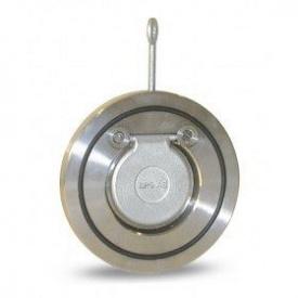 Клапан зворотний міжфланцевий Lateya нержавіюча сталь AISI 304 40 мм