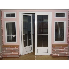 Входная металлопластиковая дверь Vorno