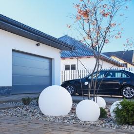 Секційні гаражні ворота ALUTECH PRESTIGE L-гофр 2750х2500 мм ADS 703 антрацит