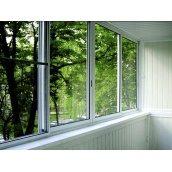 Холодное алюминиевое окно из профиля ALUMIL