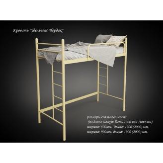 Кровать-чердак Эдельвейс Tenero 2000х900 мм