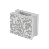 Заборный колотый блок 1/2 BERNSTONE бетон 188х190х120 мм серый цемент