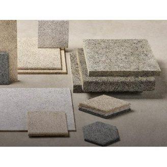 Звукопоглинаюча плита CEWOOD CW-G25R115 2400х600х25 мм сірий цемент незабарвлена