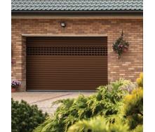Ролетні ворота ALUTECH Prestige 2600х2100 мм коричневий