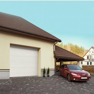 Ролетні ворота ALUTECH Trend 2400х2100 мм білий