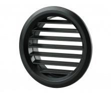 Приточно-вытяжная решетка Вентс МВ 50/2 бвс пластиковая 47х47х16,5 мм черная