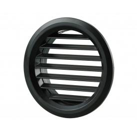 Припливно-витяжна решітка Вентс МВ 50 бвс пластикова 47х47х16,5 мм чорна