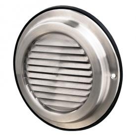 Припливно-витяжна решітка Вентс МВМ 150 Б Н нержавійка 190х190х26 мм сіра