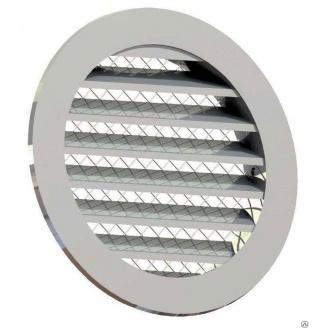 Приточно-вытяжная решетка 4VENT металлическая 200х225х225х15 мм серая