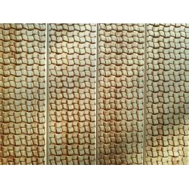 Вагонка ольха 80х14х3000 мм с декоративным тиснением Ротанговое плетение