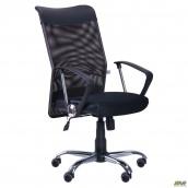 Компьютерное кресло AMF АЭРО HB Line сетка 650x650x1170 мм черное