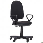 Офісне крісло Комфорт-Нью АМФ-1 1160-970х570х540 мм чорне А-1