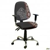 Кресло AMF Бридж хром Украина №1 650x650x1090 мм