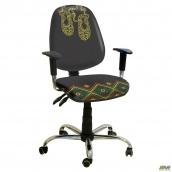 Кресло AMF Бридж хром Украина №4 650x650x1090 мм