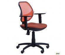 Кресло AMF Квант Action сиденье Квадро-70 спинка сетка 650x650x1030 мм оранжевый