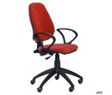Офисное кресло AMF Гольф-50 1180-1060х650х650 мм красное сидение АМФ-4 Розана-4