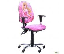 Детское кресло AMF Бридж 1100-810х610х530 мм каркас хром Дисней принцессы Аврора