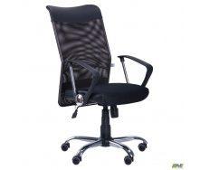 Компьютерное кресло AMF АЭРО-HB-Line 1040-1170х600x610 мм сетка черное