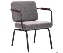 Офисное мягкое кресло АМФ Oasis 810х630х650 мм черный бетон