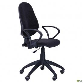 Офисное кресло АМФ Гольф-50 650x650x1180 мм черное АМФ-4 Розана-17