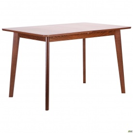 Обеденный стол АМФ Виндзор 1200-1500х750 мм раздвижной орех светлый