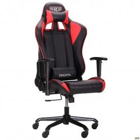 Кресло AMF VR Racer Shepard черный/красный