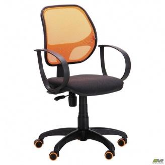 Кресло Бит Color АМФ-8 сиденье А-2 спинка сетка оранжевый