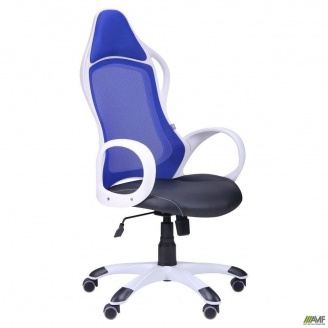 Кресло Nitro сиденье Неаполь N-20 спинка сетка синий