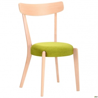 Деревянный стул АМФ Пекорино 830х500х510 мм бук беленый лайм