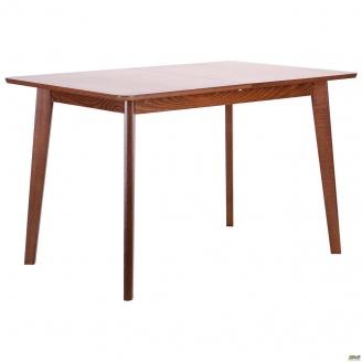 Обідній стіл АМФ Віндзор 1200-1500х750 мм розсувний горіх світлий