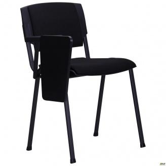 Офісний стілець АМФ Призма А-01 зі столиком чорний