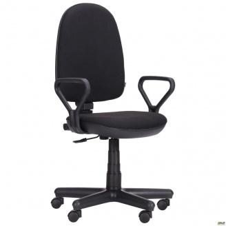 Офисное кресло Комфорт-Нью АМФ-1 1160-970х570х540 мм черное А-1