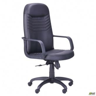 Офисное кресло AMF Стар пластик 1170-1280х630х580 мм черное