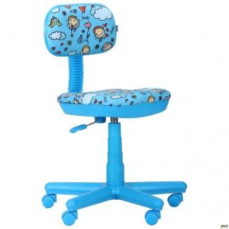 Кресло AMF Свити голубой Дизайн дети 650x650x920 мм